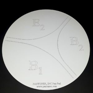 Practice Pad for Mannette Six Bass B Drum