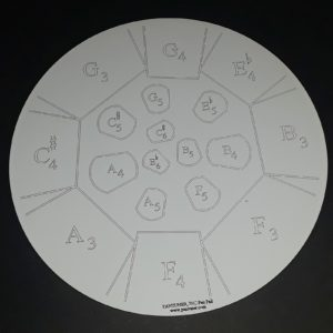 Mannette Double Seconds Practice Pad - Right Side