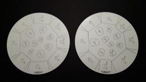 Mannette Double Tenor Practice Pad