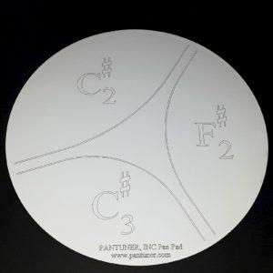 Pantuner Bass Pan C# Pan Practice Pad