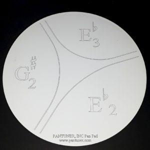 E Flat Bass Pan Practice Pad