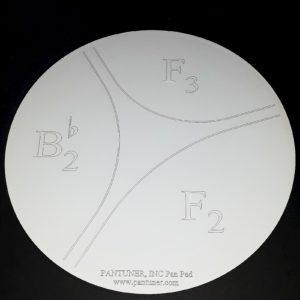 Pantuner Bass Pan F Pan Practice Pad
